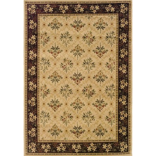 Indoor Beige/ Brown Traditional Area Rug (9' 10 x 12' 9)