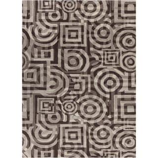 Mandara Hand-tufted Geometric Wool Rug