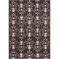 Mandara Brown/Taupe Hand-Tufted Abstract Wool Rug