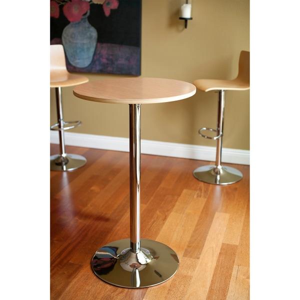 RST Brands Melrose Maple Barstool and Bar Table Set