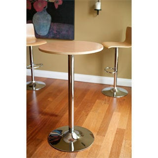 Living Melrose Maple Barstool and Bar Table Set