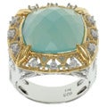 Michael Valitutti Two-tone Chalcedony Ring