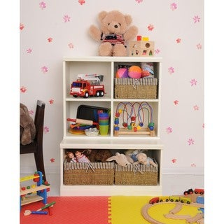 Makena Modular Storage 2 Piece Open Base/Quad Cubby