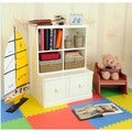 Makena Modular Storage-2 Piece Drawer Base/Quad Cubby