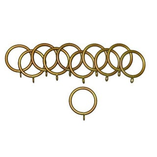 Historical Gold Metal Rings (set/12)