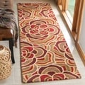 Safavieh Handmade Blossom Beige Wool Rug