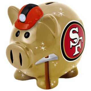 NFL Large Thematic Team Resin Piggy Bank