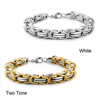 Stainless Steel Byzantine Men's Bracelet