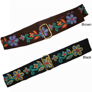 Cotton Embroidery Belt (Indonesia)