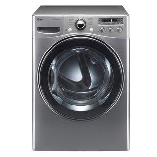 LG 'DLEX3550V' 7.4 Cubic Foot Electric Steam Dryer