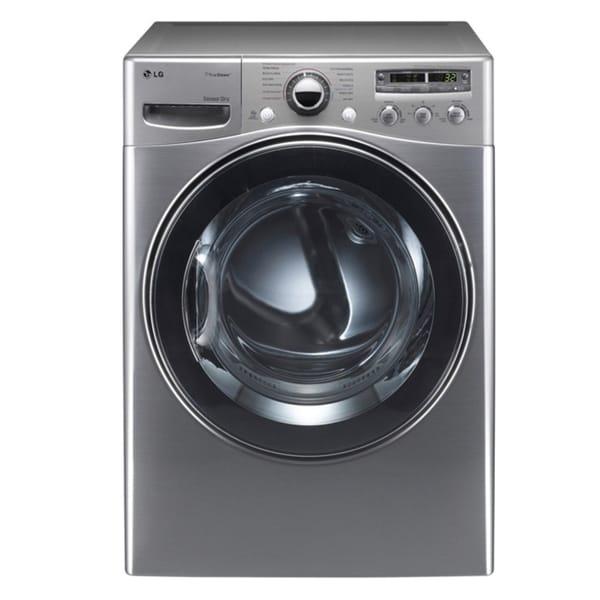 LG 'DLEX3550V' 7.4 Cubic Foot Electric Steam Dryer