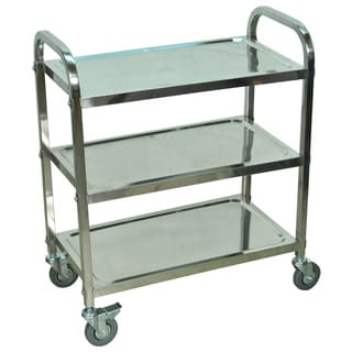 Stainless Steel Cart 3 Shelf
