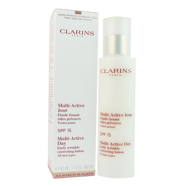 Clarins Multi-Active Day Early Wrinkle Correcting Lotion SPF 15
