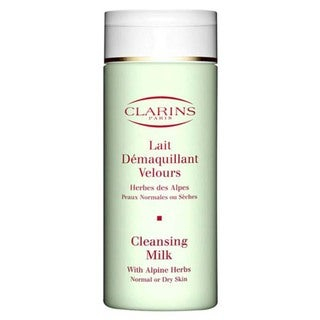 Clarins Cleansing Milk with Alphine Herbs for Normal to Dry Skin
