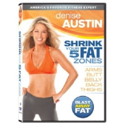 Denise Austin Shrink Your 5 Fat Zones (DVD)