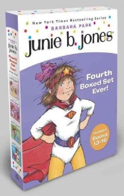 Junie B. Jones's Fourth Boxed Set Ever!: Books 13-16 (Paperback)