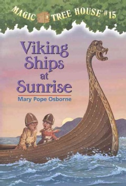Viking Ships at Sunrise (Paperback)