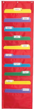 Storage Pocket Chart (Wallchart)
