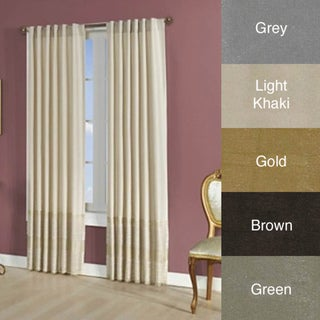 Brielle Home Roma Back Tab Curtain Panel