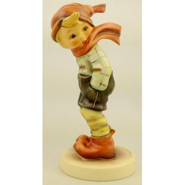 M I Hummel March Winds Porcelain 043/000/0