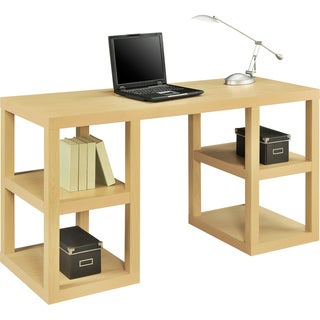 Altra Deluxe Natural Parsons Desk