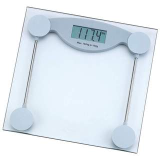 HealthSmart Glass Electronic Bathroom Scale