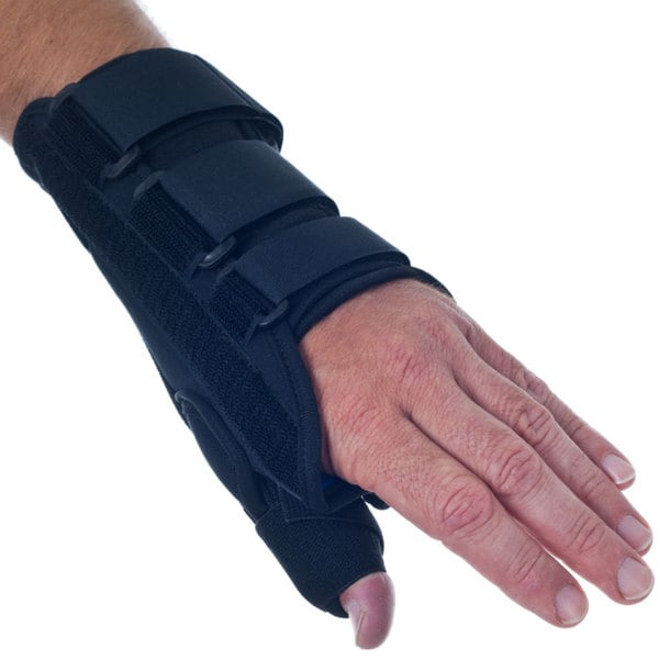 Remedy Breathable Neoprene Thumb Left Wrist Brace