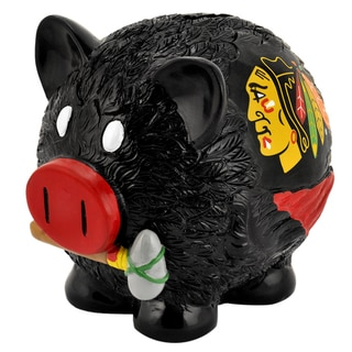 NHL Large Thematic Resin Piggy Bank