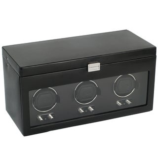 Heritage Module 2.1 Black Triple Watch Winder