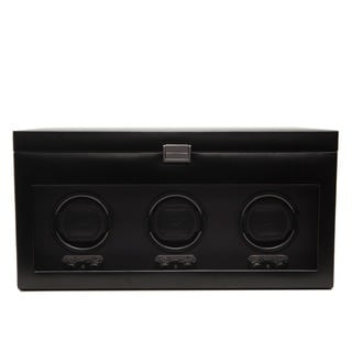 WOLF Heritage Module 2.1 Black Triple Watch Winder