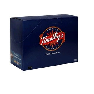 Timothy's World Coffee Irish Cream Coffee K-Cups for Keurig Brewers