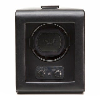 Heritage Module 2.1 Black Leather Single Watch Winder