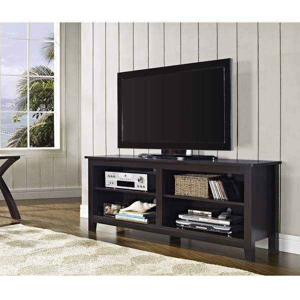 58 inch Espresso Wood TV Stand review