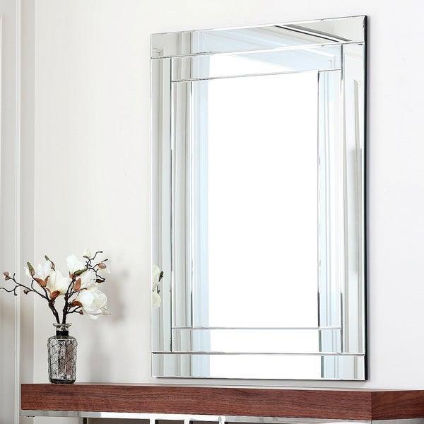 ABBYSON LIVING Fairmont Rectangle Wall Mirror