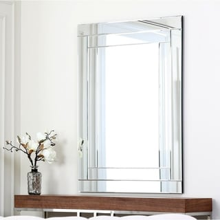 Abbyson Living Fairmont Rectangle Wall Mirror