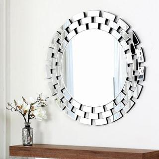 ABBYSON LIVING Devon Round Wall Mirror