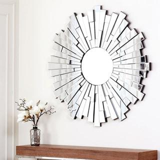 Abbyson Living Empire Round Wall Mirror