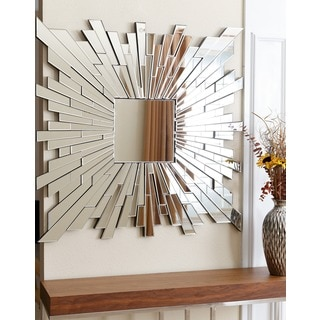 ABBYSON LIVING Empire Burst Square Wall Mirror