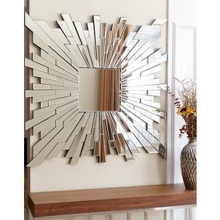 ABBYSON LIVING Empire Burst Square Wall Mirror