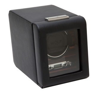 WOLF Roadster Module 2.7 Pebble-Finished Single-Watch Winder