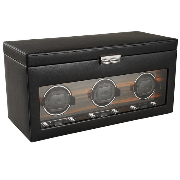 WOLF Roadster Module 2.7 Triple Watch Winder