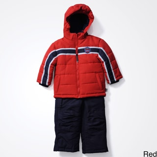 Rothschild Boys 4-7 Badge 2pc Snowsuit
