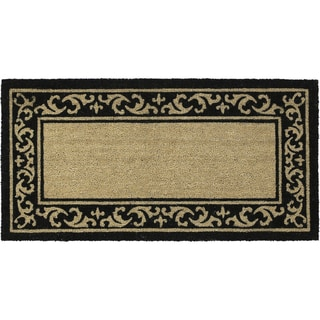 Coir Vinyl Backing Manor Door Mat (24 x 48)