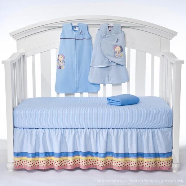 Halo SleepSack 'My Dog Sam' 5-piece Bumper-free Crib Bedding Set