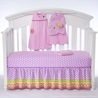 Halo SleepSack 'Jumbo's Flower Garden' 5-piece Bumper-free Crib Bedding Set