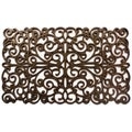 Prestige Natural Rubber Gold Finish Door Mat (18 x 30)