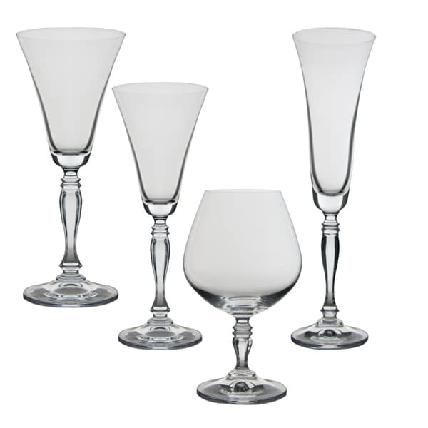 Diana 24 Piece Glassware Set