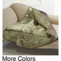Alana Embossed Plush Throw Blanket