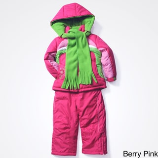 Rothschild Girls' Active 3-piece Snowsuit