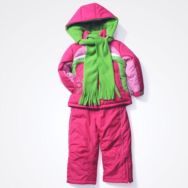 Rothschild Girls 4-6X Active Snowsuit
